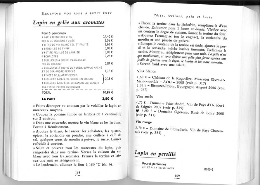 Mariatotal relire jean pierre coffe for Cuisinier lunettes rondes