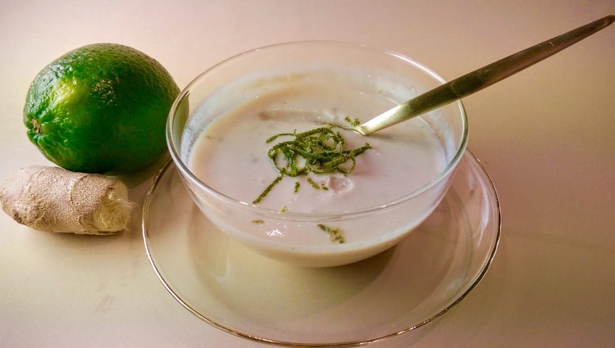 mariatotal blanc manger au citron vert et gingembre. Black Bedroom Furniture Sets. Home Design Ideas