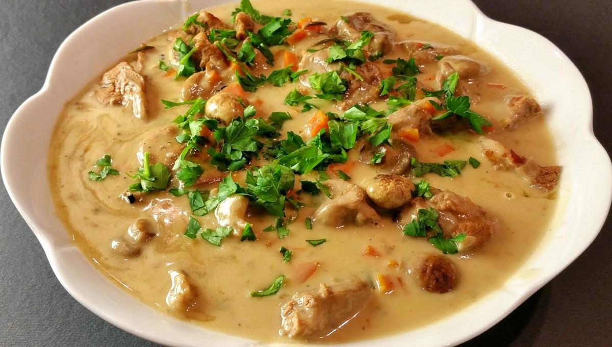 Mariatotal-Blanquette de veau traditionnelle