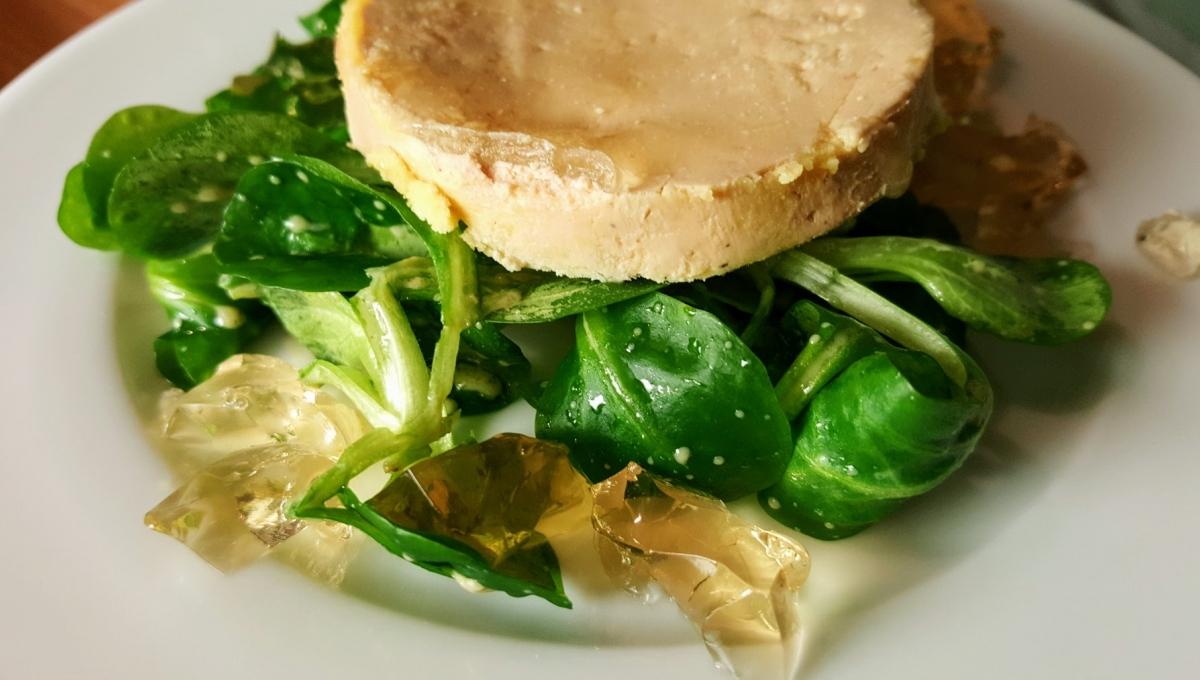 Mariatotal-Foie gras et artichaut