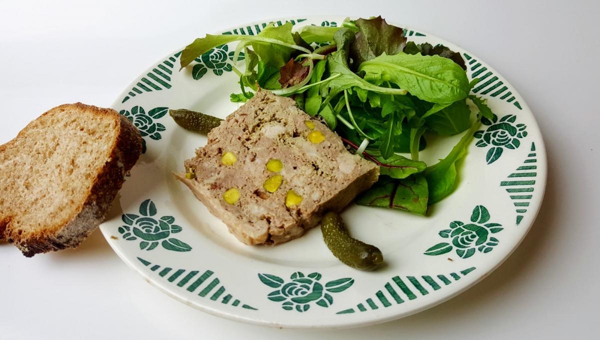 Mariatotal Pate De Canard Aux Pistaches Sans Porc